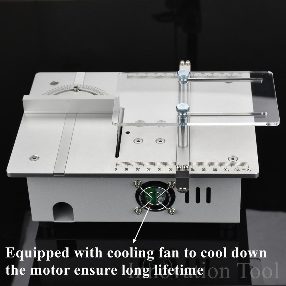 Mini table de lame de scie circulaire bois BANC À faire soi-même Artisanat Outil de coupe machine