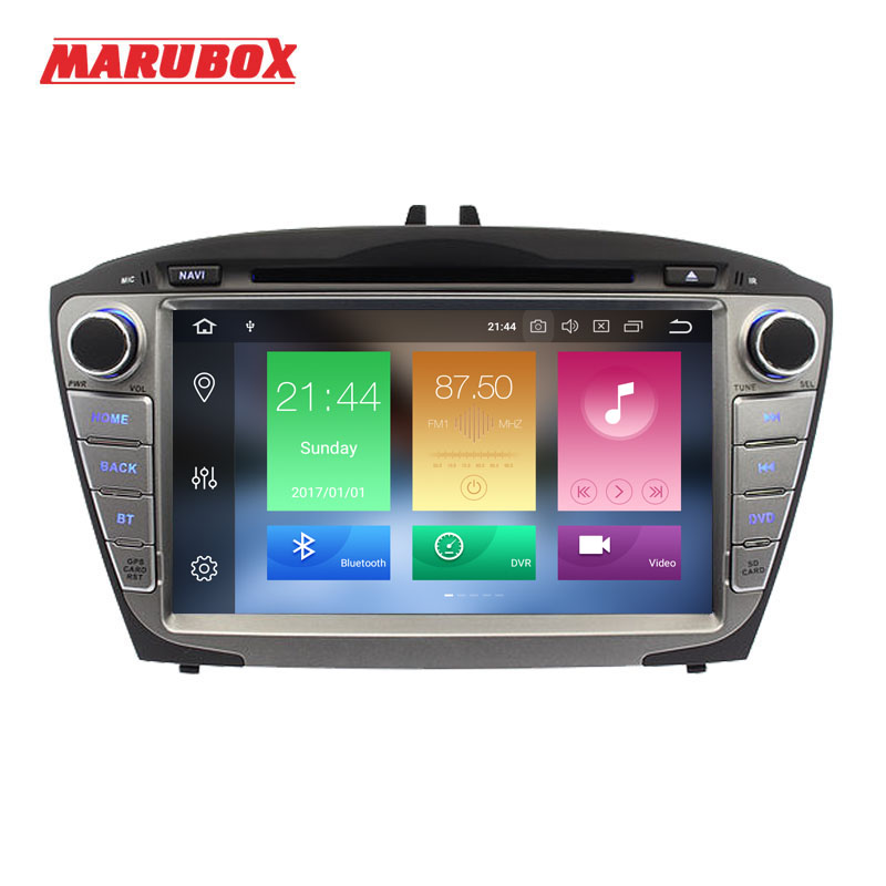 Marubox 2Din Android 9 4GB RAM For HYUNDAI ix35 Tucson 2009 2014 Stereo Radio GPS Navi