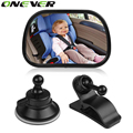 New Arrival 1Pcs Universal Car Back Rear Seat View Mirror For Baby Child Safety With Clip and Sucker Free shipping