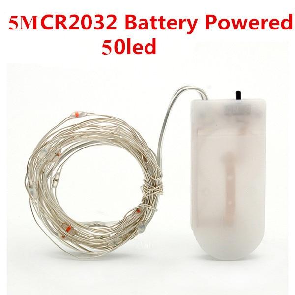 5M 50led CR2032