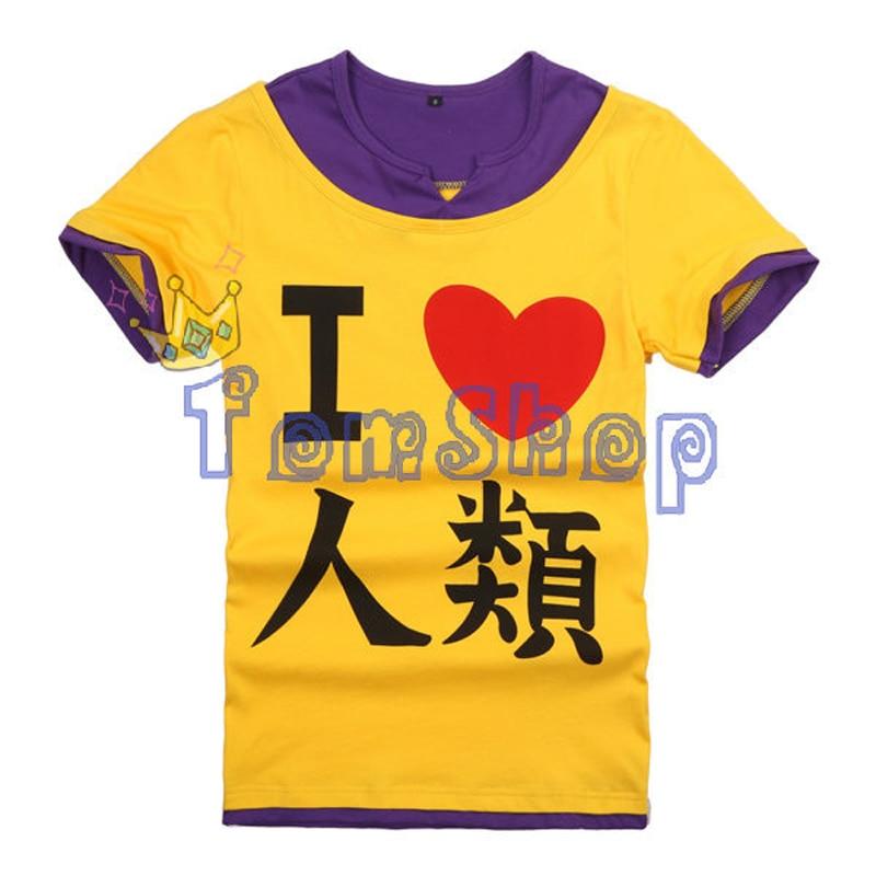Anime NO GAME NO LIFE Sora Cosplay Short Sleeve Casual Unisex T-shirt Fashion Men Women 100% Cotton t shirts Tops Tee Shirt