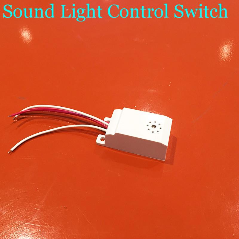 Neue Vier Kopfhrer Schwing Schalter Decke Korridor Sound Und Lichtsteuerung Sensor Energiesparlampe