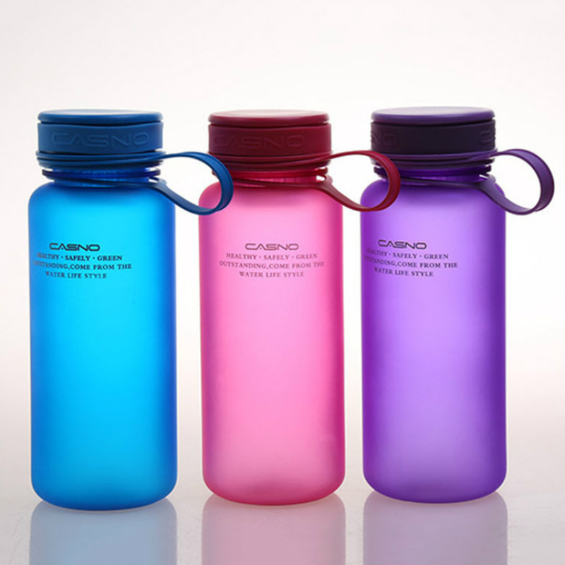 Candy Color BPA Free My Water Bottles Scrub Portable Space Sports Cycling Travel Camp Hiking Shaker Outdoor Bottle 600ml 400ML