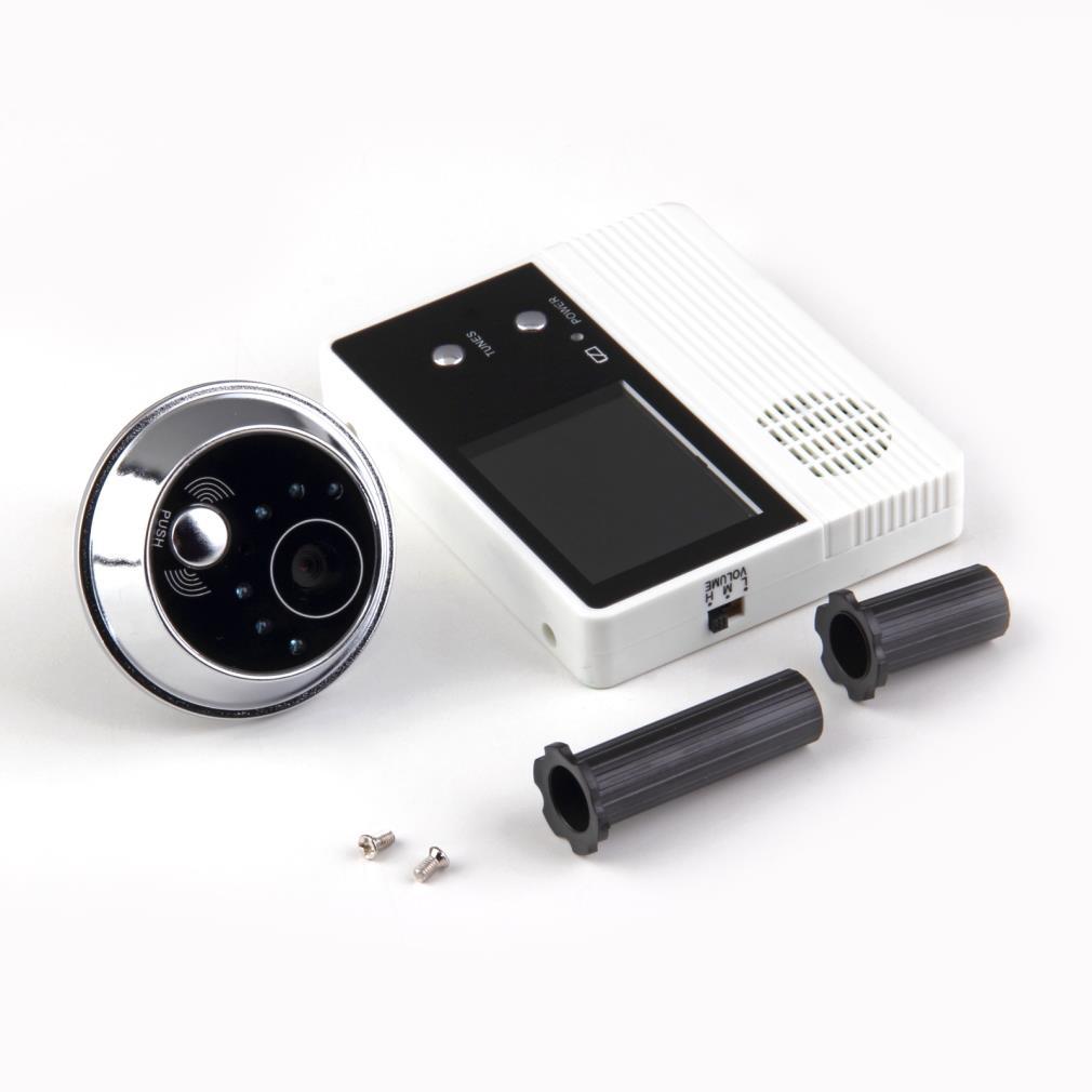 2.4 pouce TFT LCD Écran Numérique Vidéo-eye 90 Degré Angle de Vue Caméra Porte Téléphone Moniteur Sans Fil Porte Judas caméra