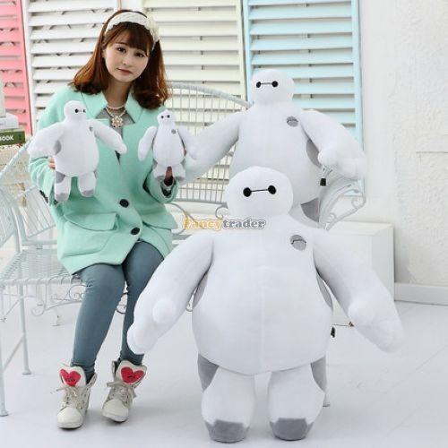 Fancytrader 39\'\' 100cm Giant Plush Stuffed Baymax Big Hero 6 Stuffed Toys, Free Shipping FT90510 (3)