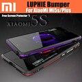 Original luphie mi5s mi5s plus border bumper case de alumínio estrutura de metal para xiaomi armadura nunca cair