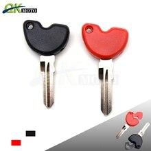 Motorcycle Keys Blank Uncut keys Embryo key rings for Fly150 Typhoon125 NEW FLY150 LX150 IE Vespa LX 3V S150 LXV150