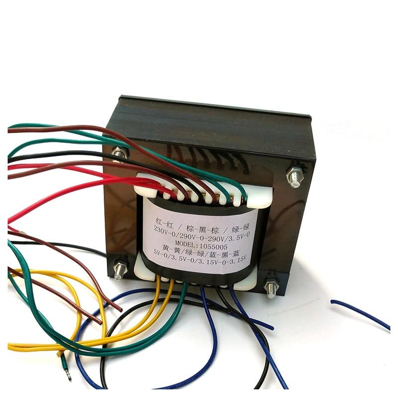 2A3C tube amplifier amp tube power amplifier transformer EI Fangniu 200W 280V 3 5V to DC