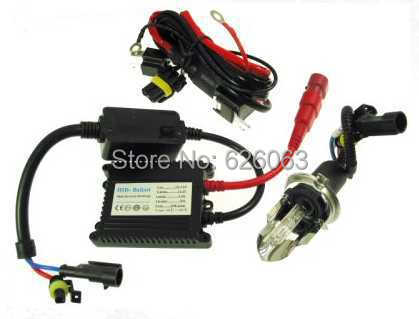 ФОТО 12v/35w HID XENON conversion Light Kit for scooters and motorcycles, 6000k