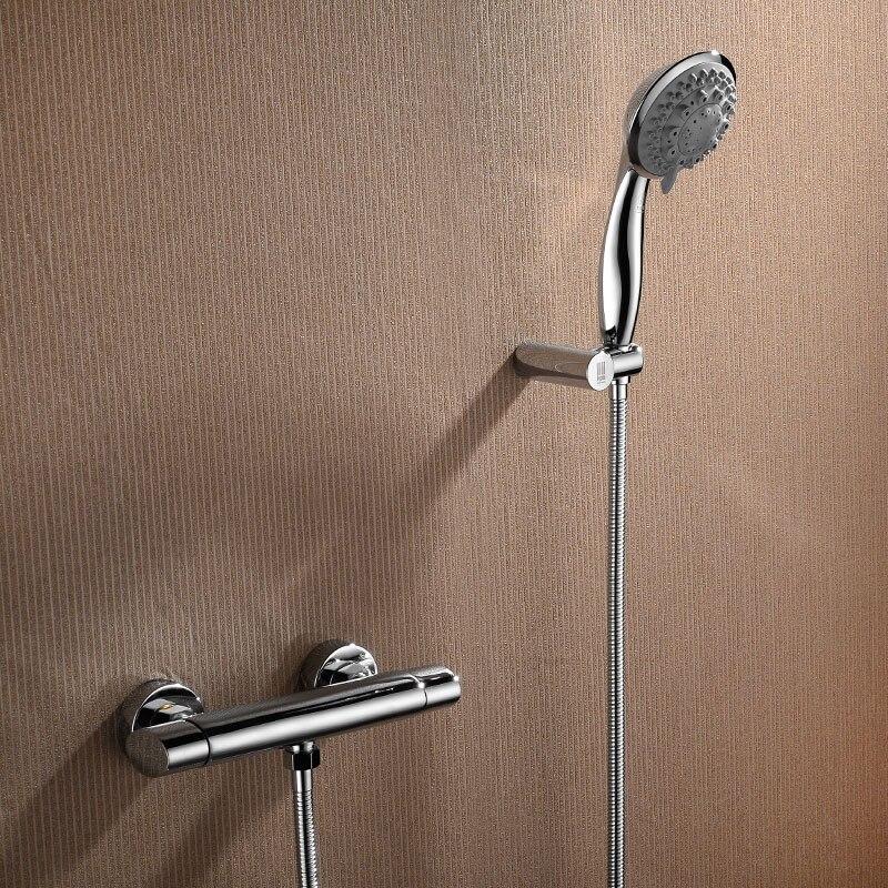 HPB Brass Chrome Bathroom Hot Cold Water Bathtub Mixer Bath Shower ...