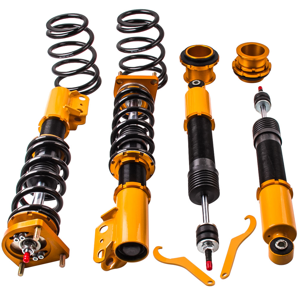 Coilovers Suspension Kits for Ford Mustang 4th 24 Step Adjustable Damping 1994 04 Coil Over Struts Shock Absorbers