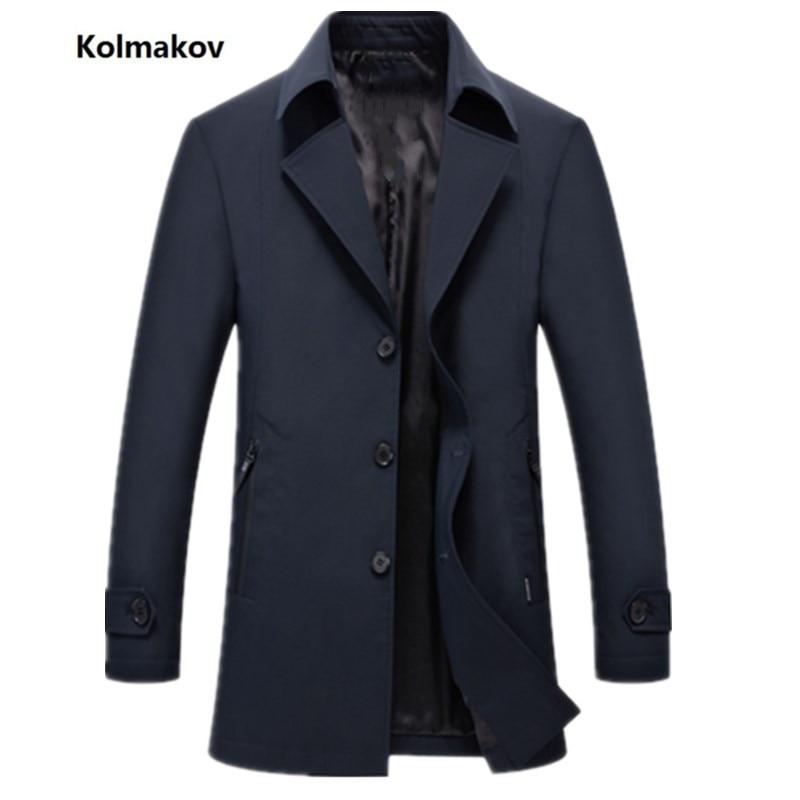 Noir Pare Bleu rangée Moyen Hommes briseSimples Coupe vent longueur Kolmakov Nouveaux Veste Mode Loisirs Printemps Bouton marine 2019 De xBoredWC