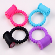 Jelly Vibrating Cock Ring, Vibration Penis Rings,Extended Ring Chastity Penis Sleeve Sex Toys, Sex Products, Adult Toy