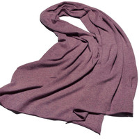 Высокого качества 100% козья кашемир клип пряжи вязать Женская мода обжима большой шарфы шали пашмины 70x200 см бобов 6 видов цветов