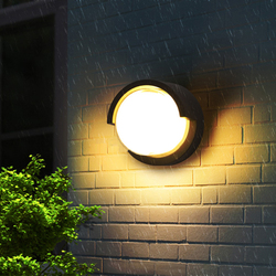 12W wodoodporna zewnętrzna lampka LED chodnik frontowe drzwi ogród ganek ściana światło nowoczesne kryty na ścianę W korytarzu oświetlenie oprawa oświetleniowa ML15
