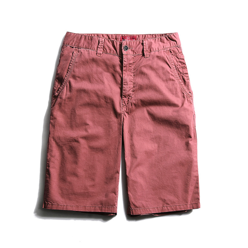 Solid Cargo Shorts Men New Summer Shorts Casual Military Fashion Short Pants Pockets Trousers Man Straight Bermuda Masculina