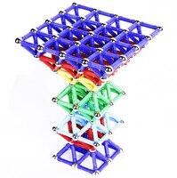60pcs Magnetic Ball Building Smart Stick Blocks Montessori Educational Toy For Children Kids Gifts Assembling Brain