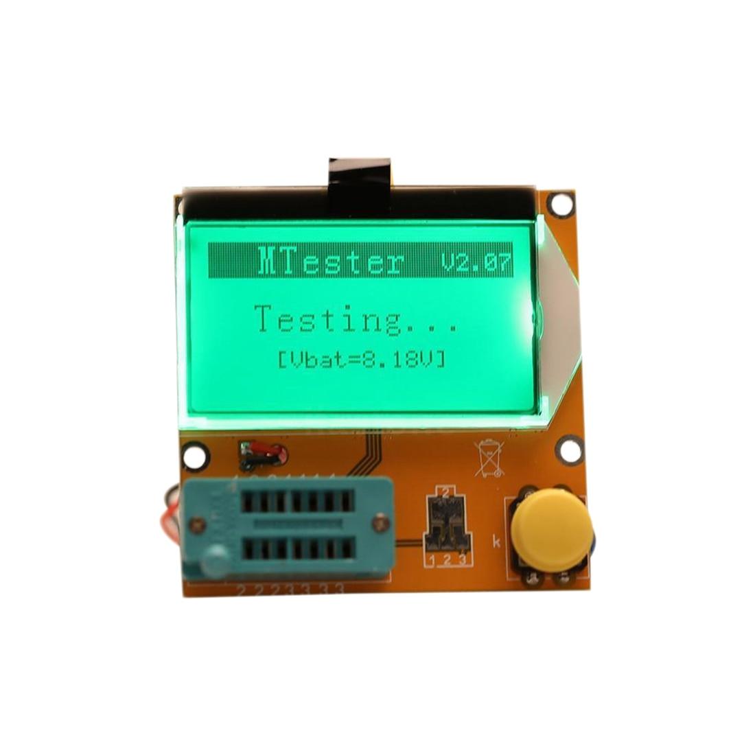LCR-T3 Transistor Tester Diode Triode Capactitance ESR LCR Meter MOS PNP NPN Pakistan