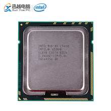 Intel Xeon L5640 Desktop Processor Six-Core 2.26GHz L3 Cache 12MB 5.86 GT/s QPI LGA 1366 SLBV8 5640 Server Used CPU(China)