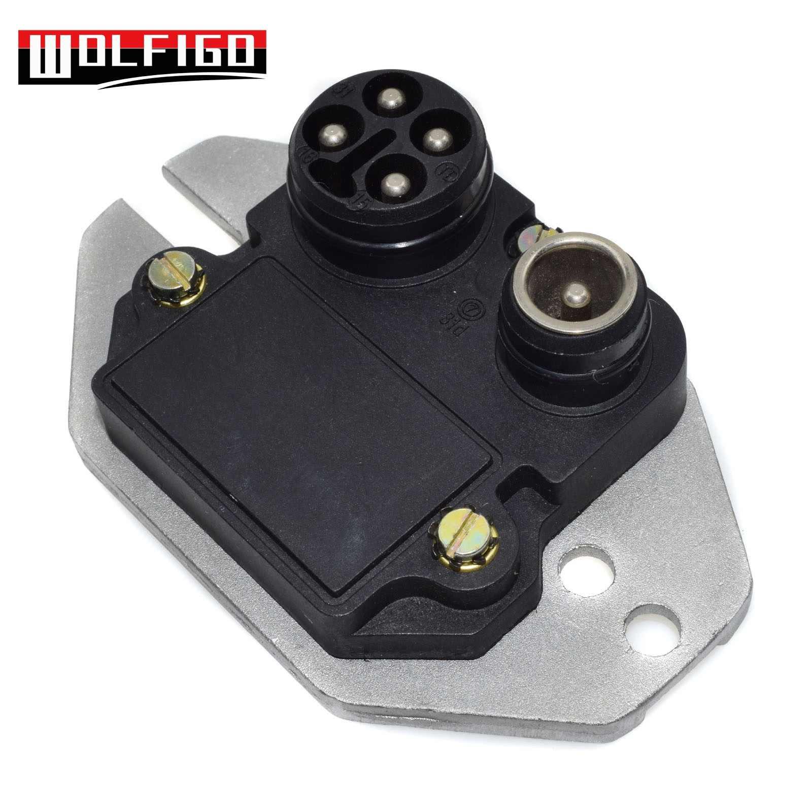 WOLFIGO Ignition Control Module For Mercedes 190E R107 W126 W201  0025452632H 0025452632 NEW