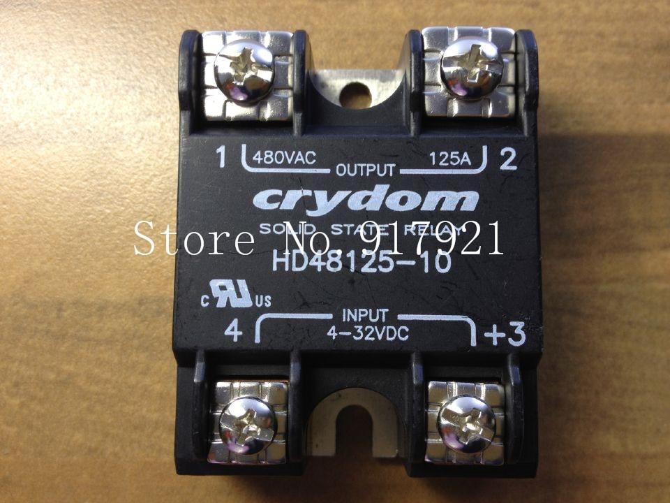 [ZOB] The original American Crydom up to DH48125-10 import 125A solid state relay 480V 4-32V [sa] new original authentic special sales crydom crydom solid state relay spot d53tp50d