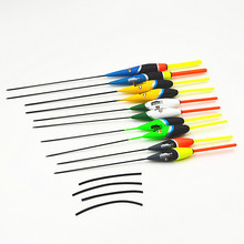 FISH KING  Master Series Floats 10pcs/lot 2g/17.5cm 3g/18cm 4g/21.5cm Bobber Fishing Float Set Buoy Fishing Tackle