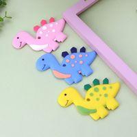 Динозавр Детские Прорезыватели для зубов Подвеска Ожерелье Аксессуар BPA бесплатно силиконовые жевательные игрушки