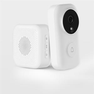 Doorbell-Set Identification Video Intelligent Xiaomi for Zero Ai-Face 720P IR Night-Vision
