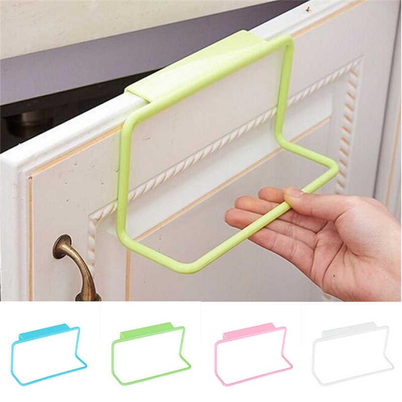 1 PCS ลูกอมสีประตูผ้าเช็ดตัวราวแขวนบาร์ห้องน้ำห้องครัว Top Home องค์กร