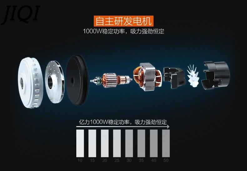 JIQI Vat Type Stofzuiger Aanzuiger Dust Catcher Industriële Veegmachine Tapijt barrel Cleaning Machine Zuig Borstel - 3