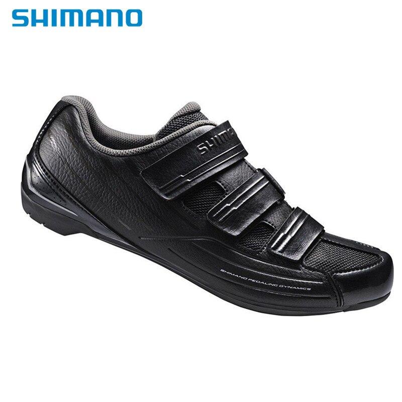 2016 Shimano Road SH RP2 SPD SL Dynalast Cycling Bike Men Shoes Black white