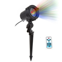 Christmas Lights Outdoor RGB Stars Laser Projector Remote Showers Garden Waterproof IP65 Tree Xmas Holiday Decoration