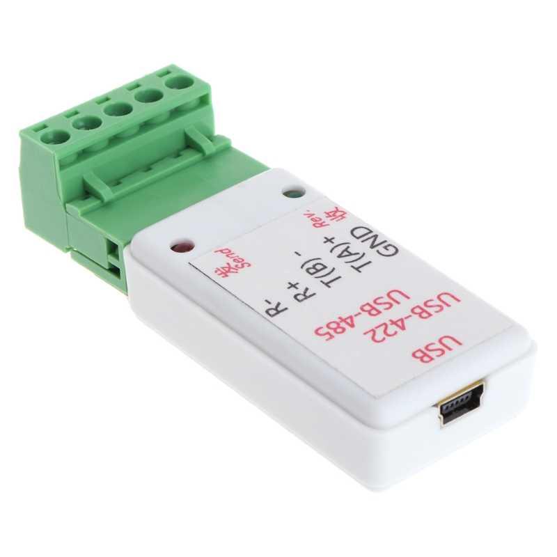 2 في 1 USB إلى RS422 و RS485 تحويل محول مع CH340T دعم 64b Win7 لينكس