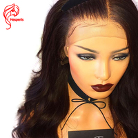 Hesperis Gluelss Full Lace Human Hair Wigs For Women Brazilian Natural Body Wave Brazlian Remy Hair Full Lace Wig Pre Plucked