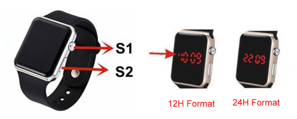 IsMyStore: Top Brand Men Women LED Watches Unisex Digital Watch Electronic Clock Hodinky Male Female Watch Sport Wristwatch For Boys Girls