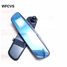 WFCVS Car DVRS Rear View Mirror DVR Dashcam 720P Video With Rearview Night Vision