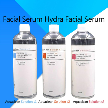 Aqua Peeling Solution 400ml Per Bottle Aqua Facial Serum Hydra Facial Serum For Normal Skin for Hydro Facial Dermabrasion