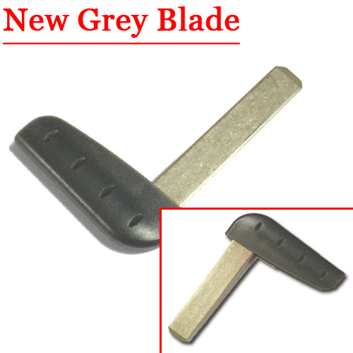 Free Shipping Emergency Key Blade For Laguna Card New Grey Blade For Renault(5pcs/lot)
