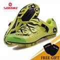Профессиональная дышащая велосипедная обувь MTB для мужчин и женщин  спортивная обувь для горного велосипеда