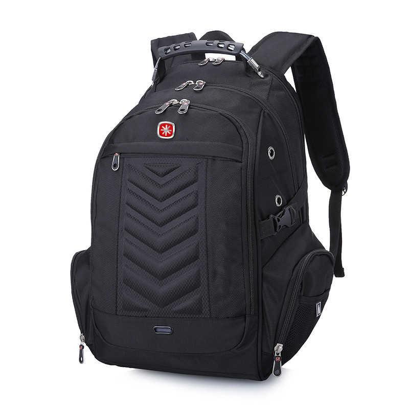 """العلامة التجارية تصميم الكمبيوتر المحمول السويسري 16 """"على ظهره حقائب الكمبيوتر الخارجية مكافحة سرقة على ظهره حقائب مقاومة للماء للرجال النساء"""