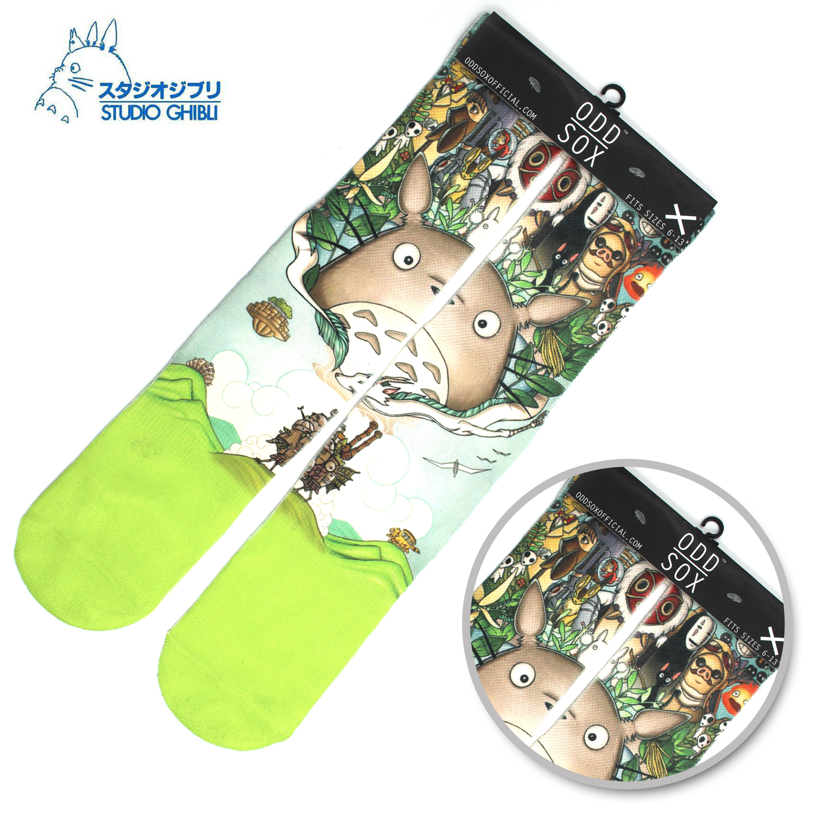 "4x16"" Anime Ghibli My Neighbor Totoro Mei Kusakabe Catbus Cotton Socks Colorful Stockings Warm Tights Cartoon Fashion Gifts"
