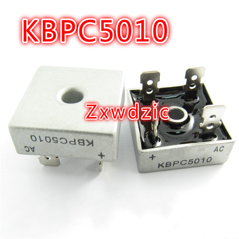 2pcs/lot  KBPC5010 50A1000V New original IC