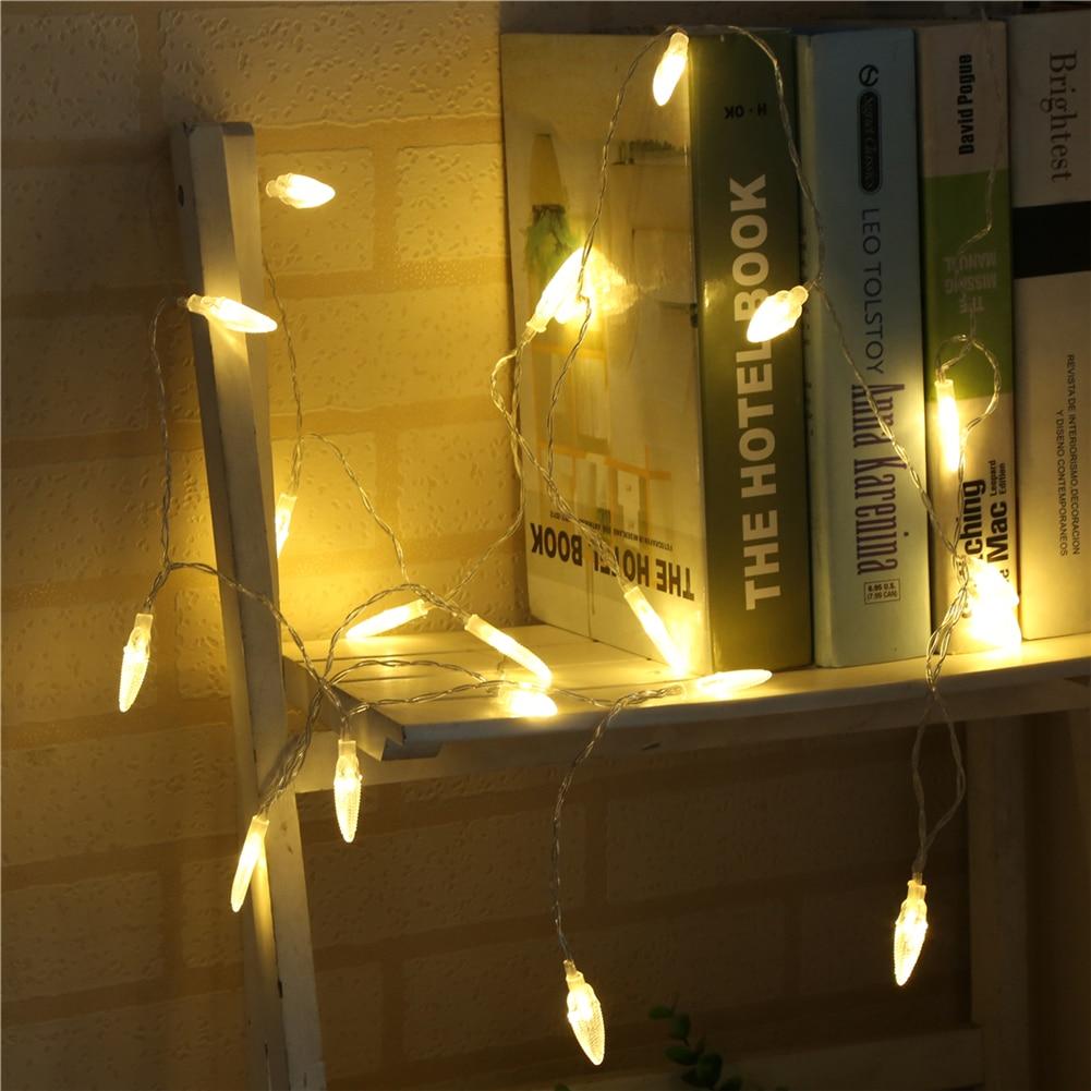 Fairy LightsCorn String Light 1.5M-6M,10L/20L/40L,3AA/ Room Weding Party Wall Window Home Decoration Children Night Lamp