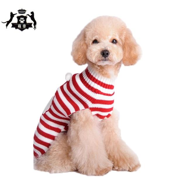 Santa Claus Patrón Estilo de Ropa Para Mascotas Perro Suéter que ...