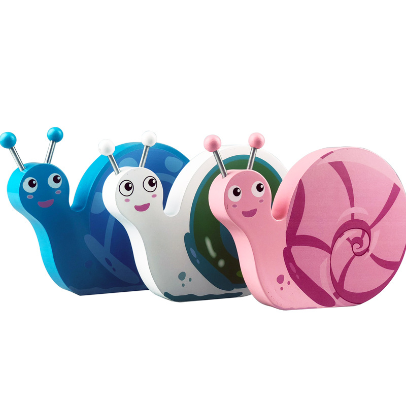 Cute Snails Baby Wood Tooth Box Baby Keepsake cuna bebe madera Organizer Milk Teeth Storage Collect Teeth Umbilica Save Gifts
