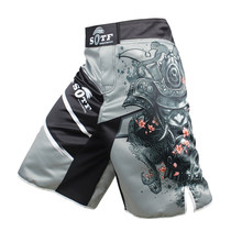 Men's MMA Boxing Shorts Sports Shorts Muay Thai Pants Fights MMA kickboxing Shorts(China)