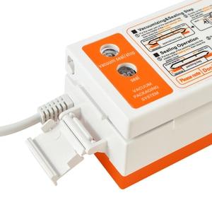 Image 4 - ATWFS Best Food Vacuum Sealer Packaging Packing Machine Film Kitchen Food Saver Mini Vacuum Container with 15pcs Vacum Bag