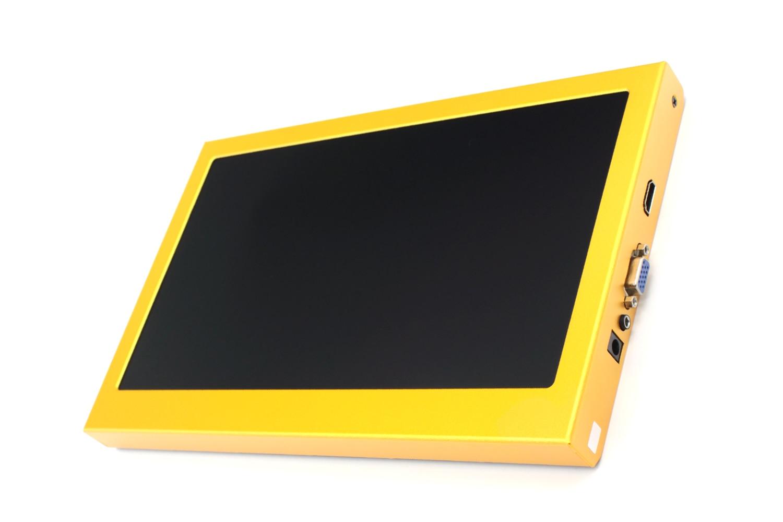 11.6 pouces 1920*1080 IPS LCD écran haut-parleur affichage Portable publicité moniteur Module voiture PC Raspberry Pi 3 1080 p HDMI VGA USB