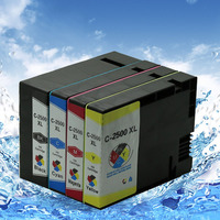 4 Color 1set Non Infringement Ink Cartridge Pgi 2500 For Canon MB4050 MB5050 MB5350 Printer