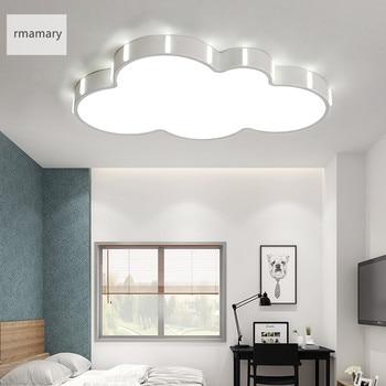 現代光沢 Acry Dia42/52 センチ 110/220 ボルト Led シーリングライト子供ルームのベッドルーム白仕上げ天井ランプ照明器具